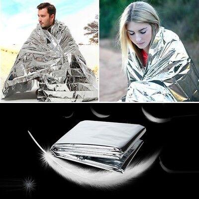 Outdoor Survival Emergency Mylar Waterproof Sleeping Bag Foil Thermal Blanket