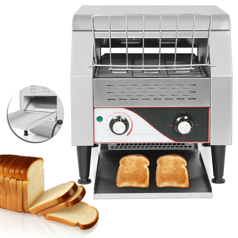 Commercial Conveyor Toaster 350pcs/h Equipment Bread Bagel Food