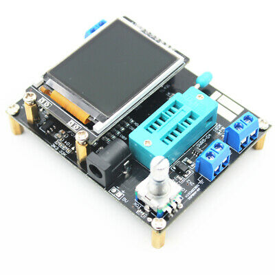 Gm328a Transistor Tester Diode Capacitance Inductance Lcd Display Esr Generator
