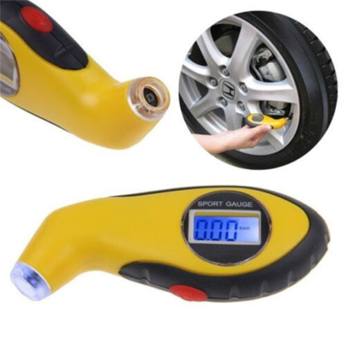 Tire Pressure Guage Digital Car Bike Truck Auto Air PSI Meter Tester Tyre Gage