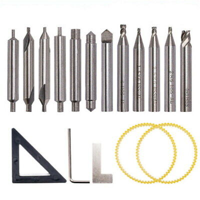 Drill Bits Cutter Set For 368a Locksmith Vertical Key Tool Machine Spare Parts B