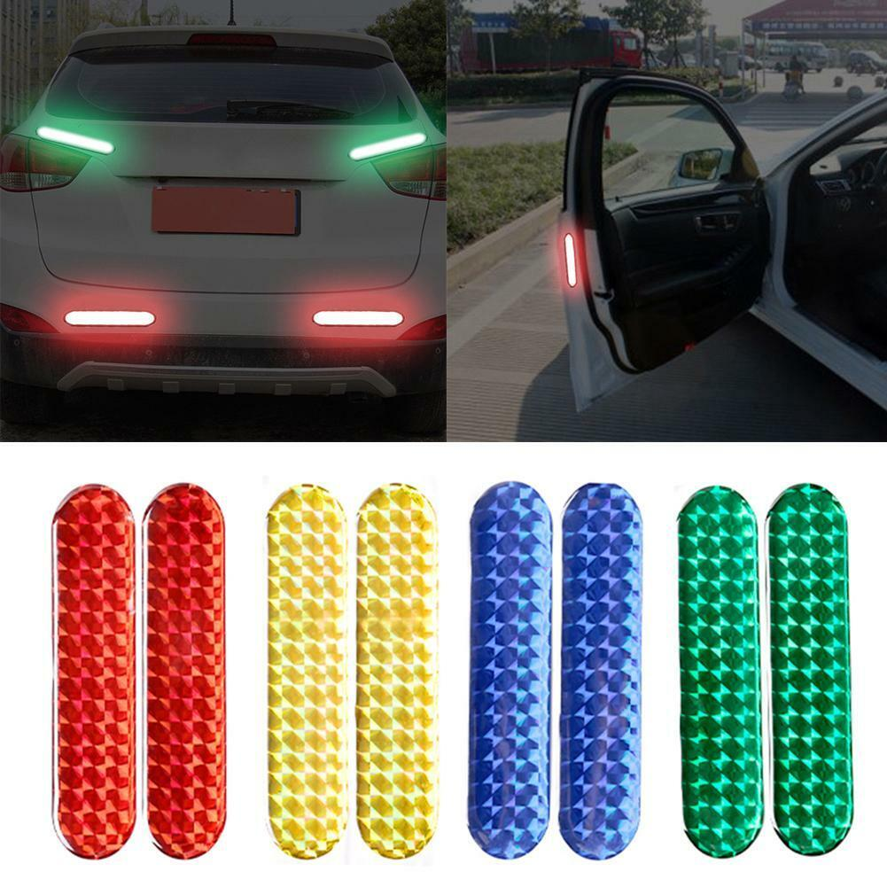 Reflective Tape Safety Self Adhesive Strip Reflector Sticker Decal 150FT 1CM