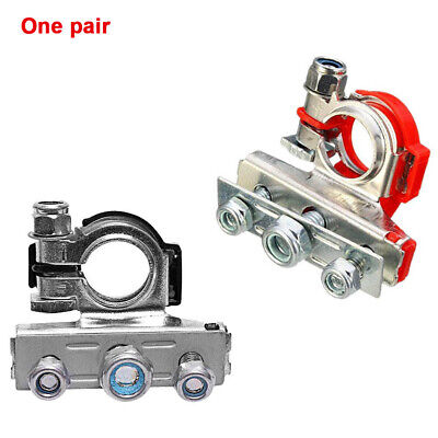 2pcs Car Heavy-duty Battery Terminal Quick Connector Cable Clamp Equipment