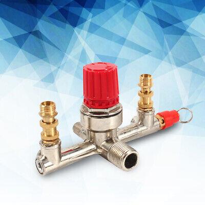 Air Compressor Pressure Control Switch Valve Manifold Regulator Valve Fit Part