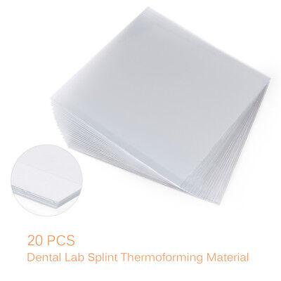 Dental Lab Splint Thermoforming Material Vacuum Forming Hard 1.01.52.0mm
