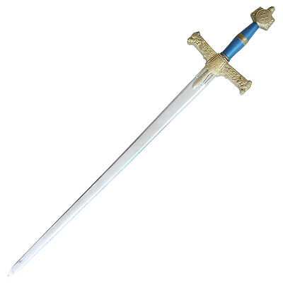 Medieval Renaissance Re Enactment King Solomon Foam Sword Of Wisdom Costume Prop