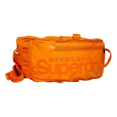 Superdry NEW Men's Hardy Sling Bag - Hazard Orange BNWT