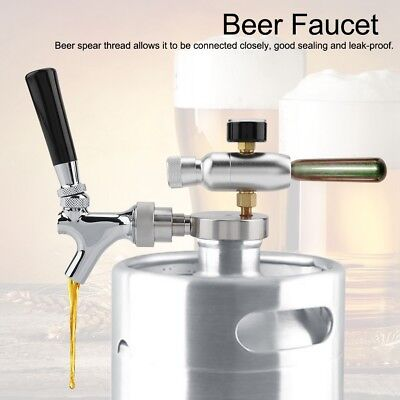 Beer Spear Faucet Taps Dispenser For 2/3.6/4L Mini Keg Beer Growler Homebrew for sale  Shipping to Canada