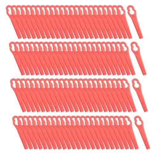100X Ersatzmesser für Rasentrimmer PRTA 20-Li A1 LIDL IAN 311046 Schwarz