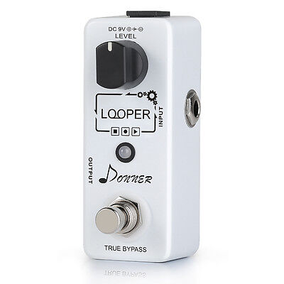 Donner Looper 10 Minutes Looping Time Guitar Effect Pedal Sale