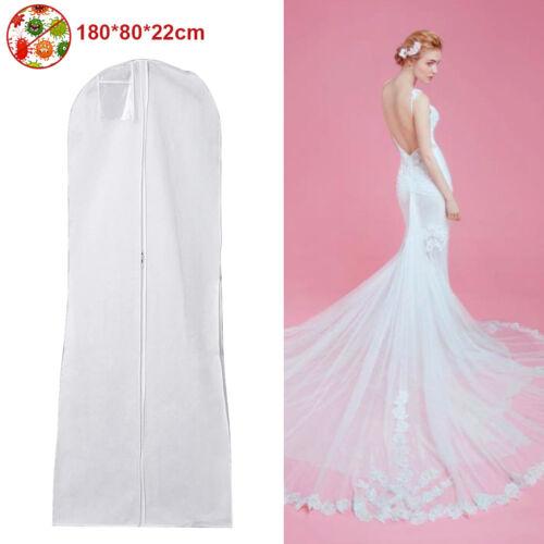 Large Garment Cover Wedding Bridal Dress Gown Storage Bag Dustproof ...