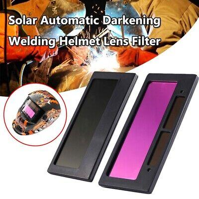 4-14 X 2 Solar Auto Darkening Welding Helmet Lens Filter Shade Tool New