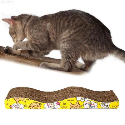 37AA Pet Cat Scratcher Scratching Board Corrugated Cardboard Scratch Post S