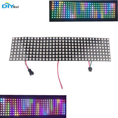 Ws2812 5050 8x32 Rgb Flexible Led Matrix Panel Addressable Programmable Pixel