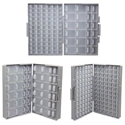 3pcs Aidetek Smt Resistor Capacitor Storage Box Organizer Diodes Box144box4896