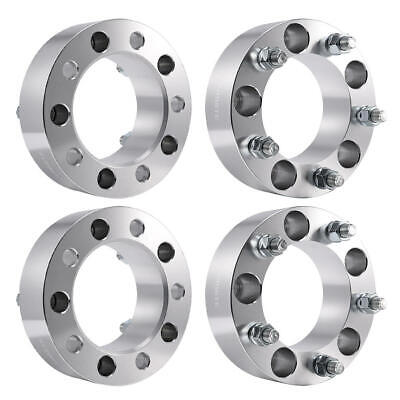 "Wheel Spacers Adapters 4x 2"" 5x5.5""/5x5.5"" 1/2""x20 for Dodge Ram 1500 Ford F-150"