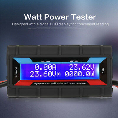 130a Current Rc Power Tester High Precision Watt Meter Voltage Amp Dc Analyzer