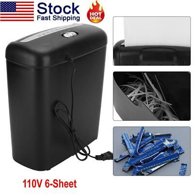 Commercial Office Shredder Paper Destroy Strip Cut Heavy-duty Paper Credit Card