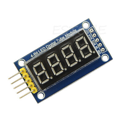 Tm1637 Led Display Module 4 Bits Digital Tube With Clock Display For Arduino