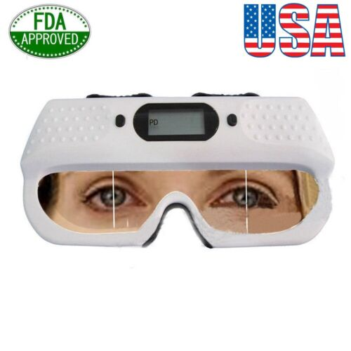 Optical Digital PD Ruler Ophthalmic Pupilometer Distance Scale Instrument 5W 3A