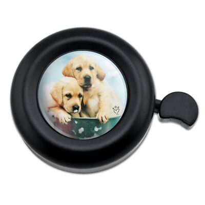 Labrador Retriever Puppies Dogs Bath Bubbles Bucket Bicycle Handlebar Bike Bell for sale  Shipping to India