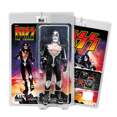 KISS 8 Inch Mego Style Action Figures Series Seven Destroyer: The Catman