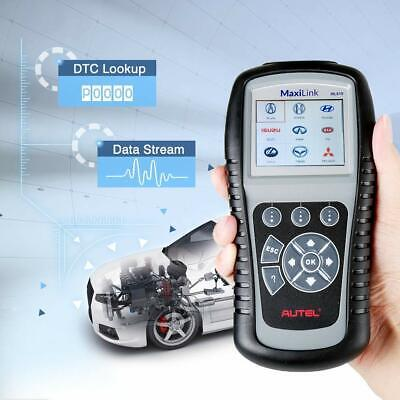 Used, MaxiLink ML619 OBD2AutomotiveDiagnostic Scanner Code Reader SRS ABS AirBag Autel for sale  Canada