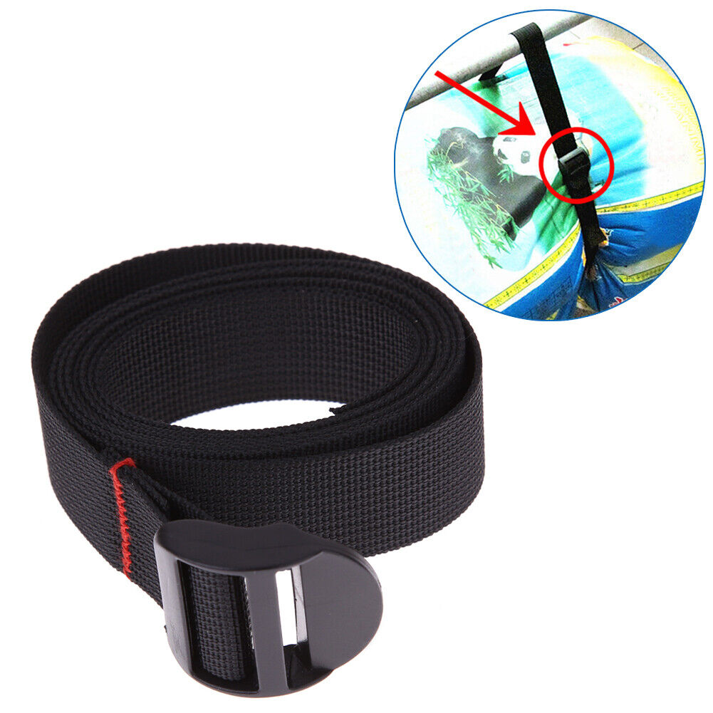 Nylon Bags Belt Pack Cam Tie Down Straps Cargo Lash Luggage With Metal Buckle