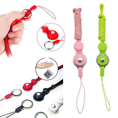 Detachable Cell Phone Holder - Cell Phone Mobile Neck Strap Key Ring Holder ID Card Lanyard Detachable Chain#