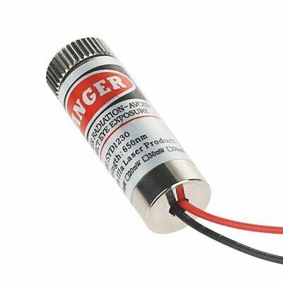 650nm 5mw Red Laser Line Module Focus Adjustable Laser Head 5v Good