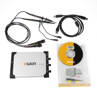 Owon Vds1022i Usb Isolation Pc Digital Storage Oscilloscope 25mhz 21 Ch 100mss