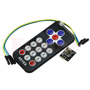 New-Useful-Infrared-IR-Wireless-Remote-Control-Module-Kits-For-Arduino-PIC-AVR