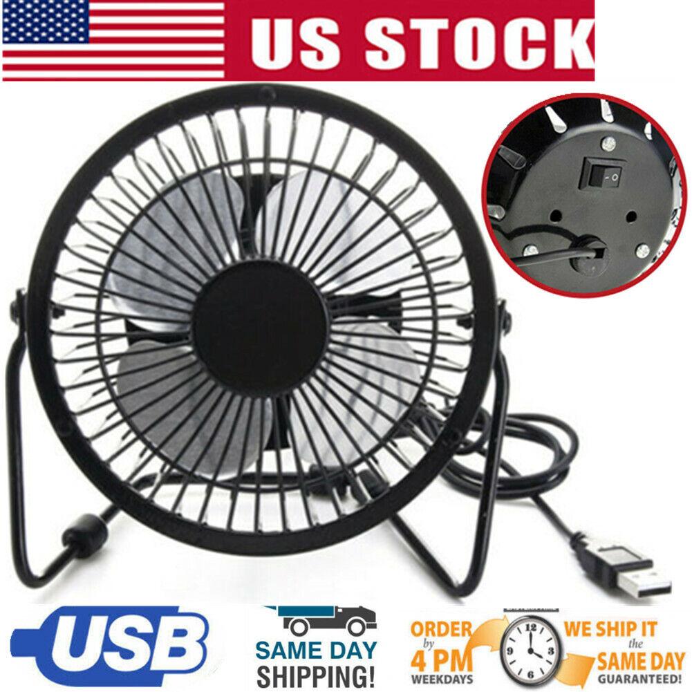desk table fan personal usb small air