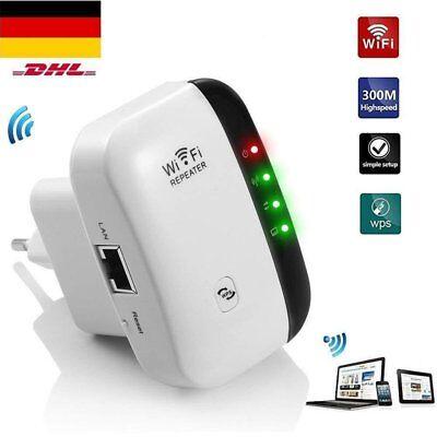 300 Mbit/s WLAN Repeater WLAN Signal Verstärker Wifi Wlan Router Boost TOP