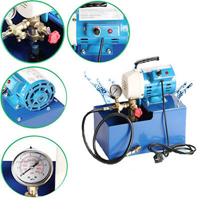 2.5mpa Electric Pressure Test Pump Hydraulic Piston Testing Pump 220v