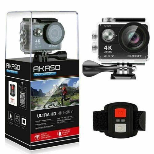 4K+Sport+Go+Pro+Action+Camera+Ultra+HD+12MP+WiFi+Waterproof+Remote+Control+NEW