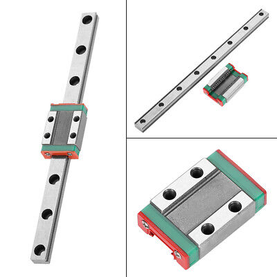 9mm Lml9b Miniature Linear Slide Rail Guidesliding Block Diy Cnc 3d Printer El