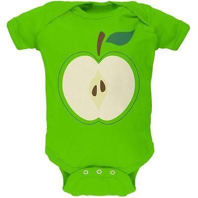 Halloween Apple Slice Costume Soft Baby One Piece