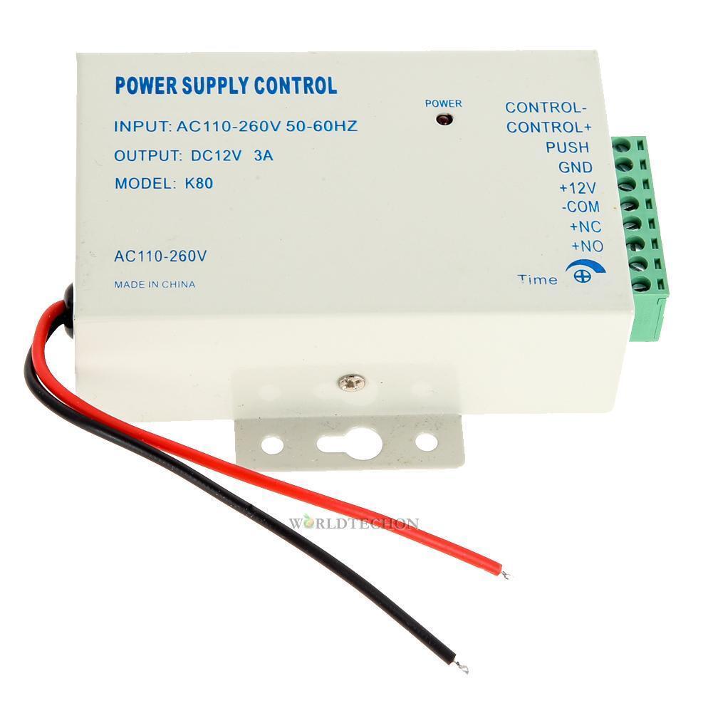 12V Power Supply Door Access Control System RFID EM Keypad Access Control