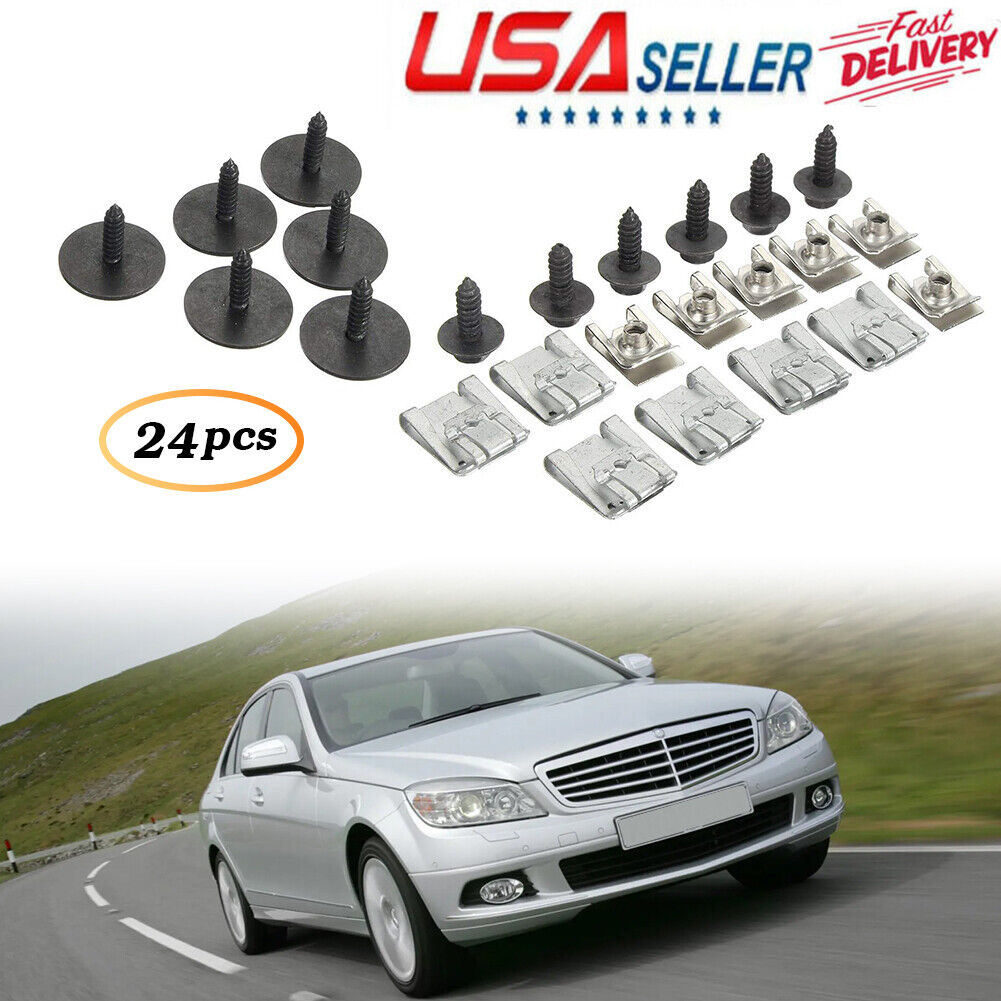 Undertray Fasteners Screws For Mercedes-Benz C-Class S203 S204 W204 CL203 W203