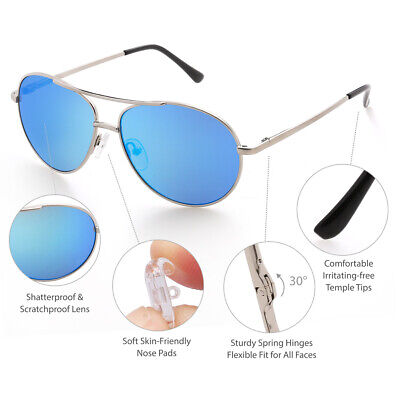 Aviator Sunglasses for Kids Boys Girls Baby Children Toddler Youth Eye (Baby Girl Aviator Sunglasses)