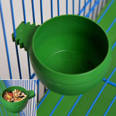 Bird Parrot Food Water Bowl Pigeons Pet Cage Non-toxic Feeder Feeding Supplies