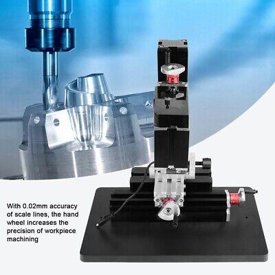High Power Mini Metal Lathe Diy Tool Micro Milling Machine Millier 12000rpm 60w
