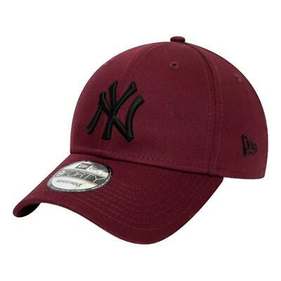 New Era Men's New York Yankees Essential 9 Forty Cap - Maroon BNWT