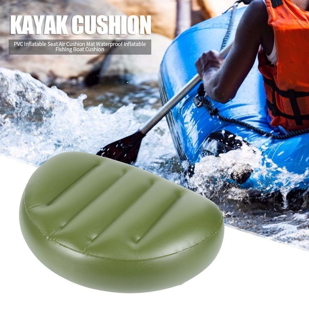 Portable Folding Cushion Inflatable Seat for Outdoor Camping Fishing Rafting