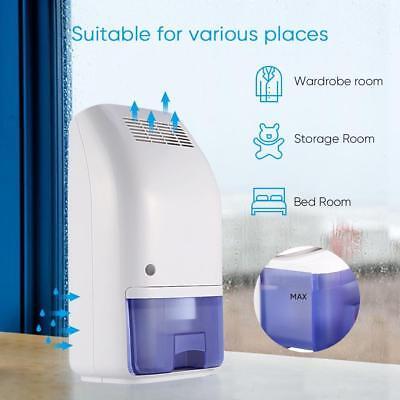 ECOO Air Dehumidifier 700ml Ultra Quiet Compact Portable Electric Dehumidifier