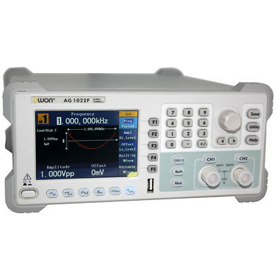 Owon Arbitrary Waveform Function Generator 200m Counter Ag1022f 25mhz 2chs Fm