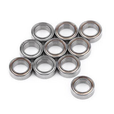 10pcs Mr85zz Double-shielded Miniature Ball Bearings 5x8x2.5mm For 3d Printer