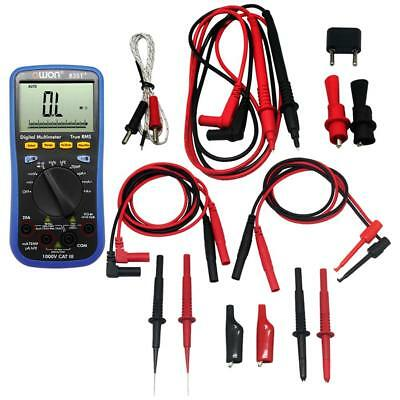 Owon 3-in-1 B35t Multimeter With True Rms Measurement Bluetooth With Tlp20157