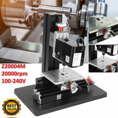 Z20004m Mini Precise Metal Drilling Machine Drill Press Stand 20000rpm 100-240v